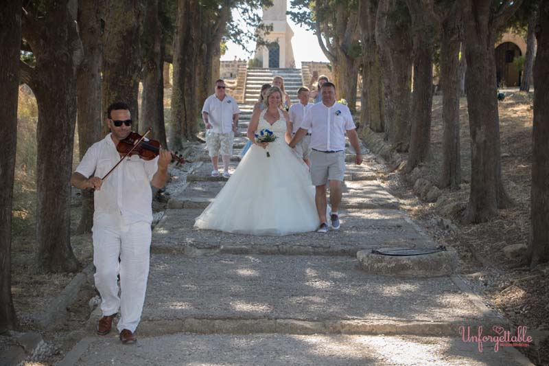 Wedding Venue Rhodes : Filerimos Cross