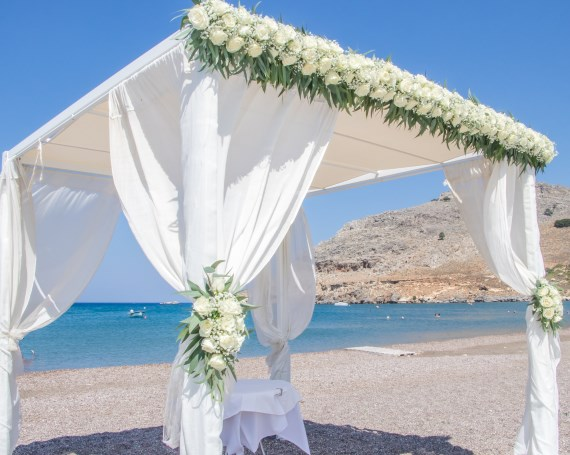Lindos Wedding at Lindian Jewel Wedding Venue Lindos