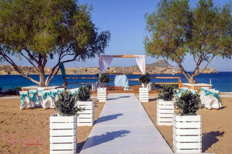 Wedding Venue Lindos: Lindos Bay