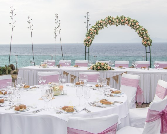 Sheraton Rhodes wedding reception venue