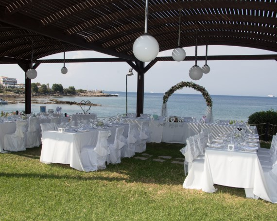 Tsambikos Taverna Rhodes wedding reception venue